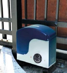 Bramy przesuwne - automat