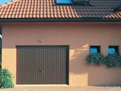 brama uchylna garażowa